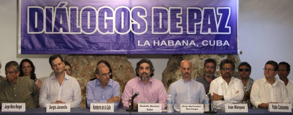 The Colombian Peace Process - WOLA