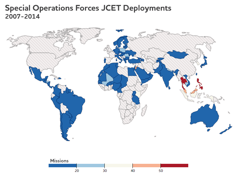 World Map of Jcets_eng